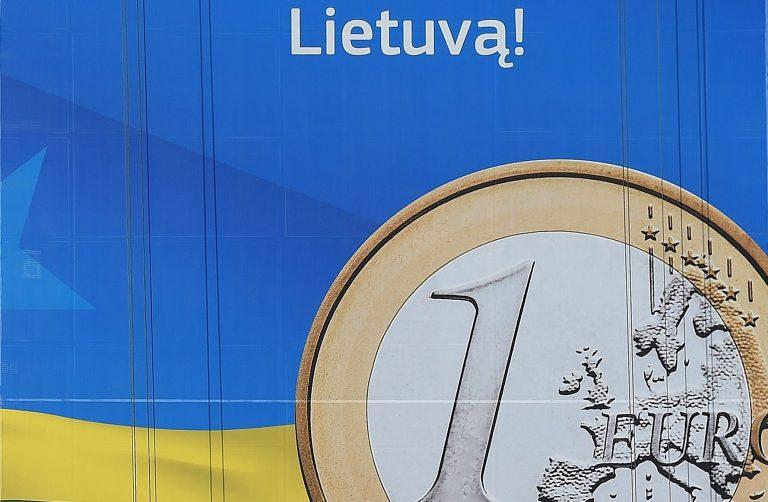 Selline on Leedu euromünt, rahvuslikul küljel on Leedu vapp.