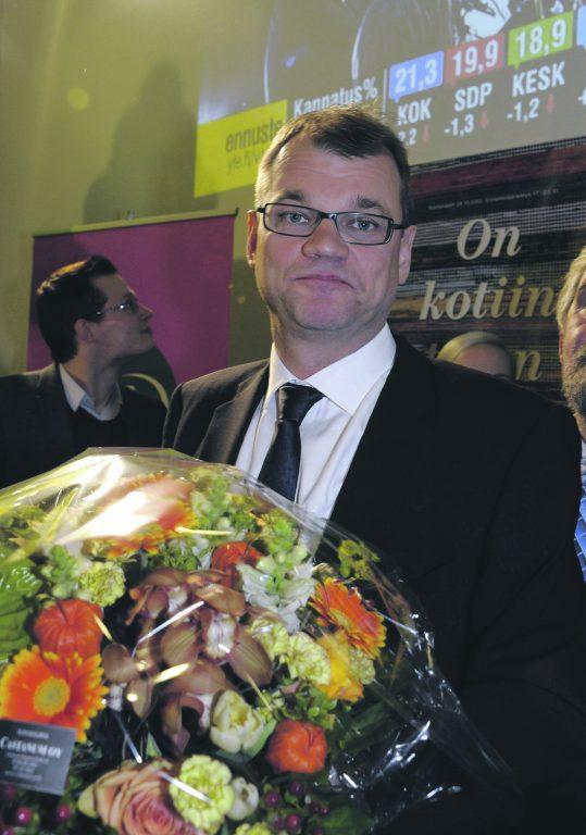 Keskerakonna juht, tõenäoliselt järgmine Soome peaminister Juha Sipilä.