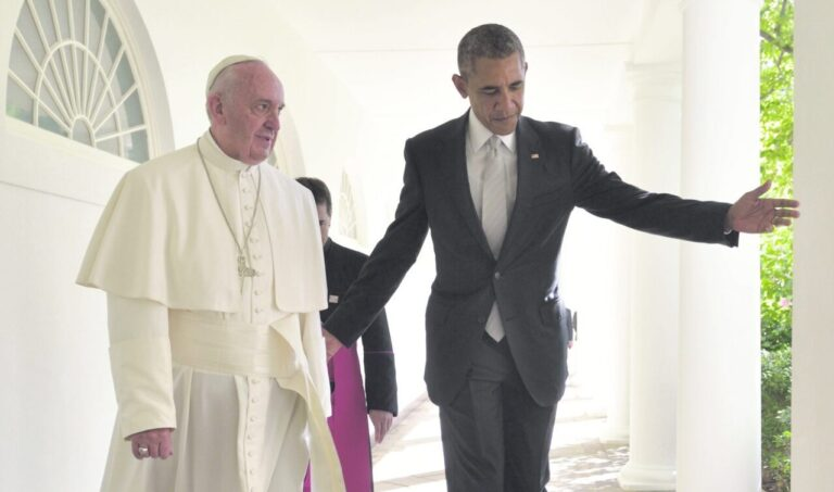 USA president Barack Obama ja paavst Francis septembris Valges Majas.