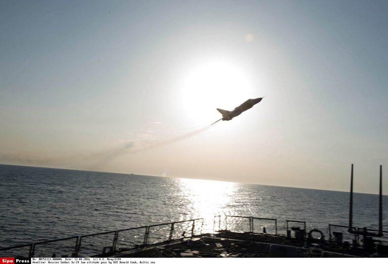 Läänemere strateegilise tasakaalu küsimus muutus veelgi aktuaalsemaks pärast seda, kui 12. aprillil lendas USA sõjalaevast Donald Cook väga madalalt üle Vene ründelennuk SU-24
