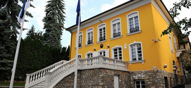 Eesti uhke saatkonnahoone Budapestis. Kas taasavada?