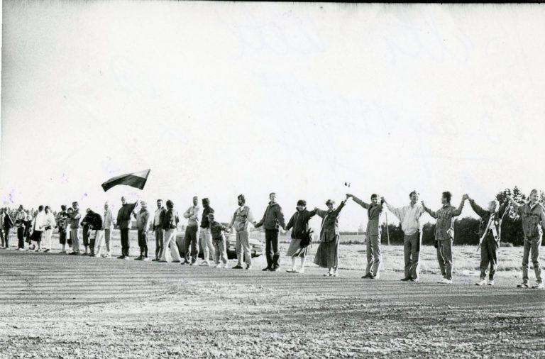 Balti kett 23. augustil 1989 – Molotovi-Ribbentropi pakti 60. aastapäeval – oli ehk Balti ühtsuse tugevaim väljendus.