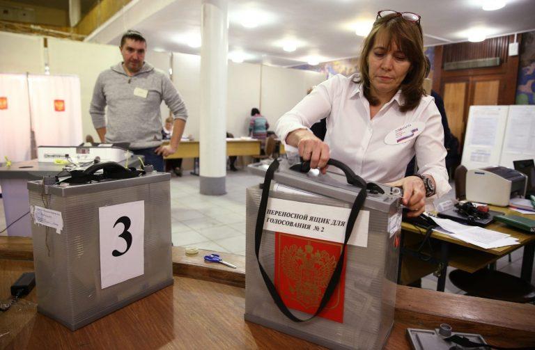 Vene valimiste ajal oli inimestel võimalus ka lasta oma eelistus mobiilsesse valimiskasti, mille hääli hakatakse Rjazanis just üle lugema.
