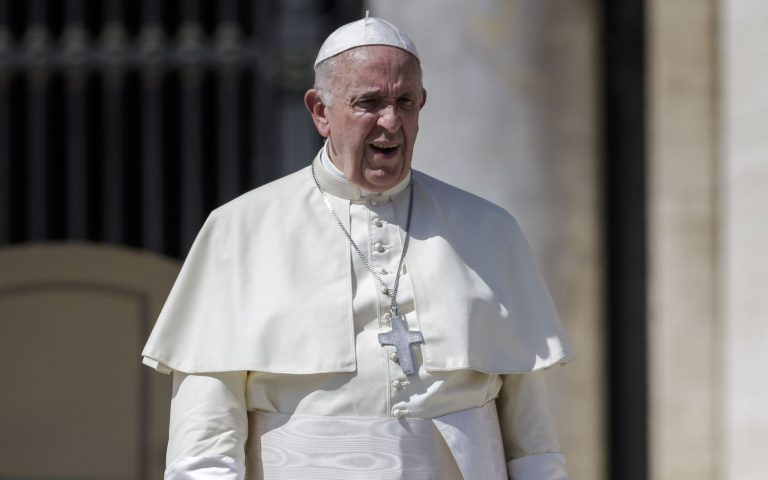 Paavst Franciscus I. Pacific