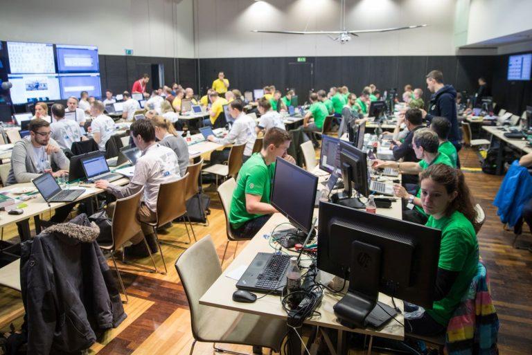 Maailma suurim küberkaitseõppus Locked Shields eelmisel aastal.