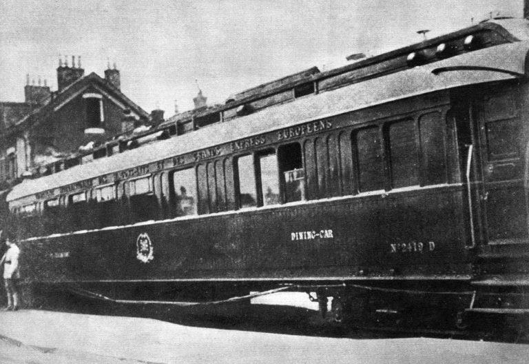 Rongivagun Compiègne'i metsas, kus kirjutati 11. novembril 1918 alla Läänerinde vaherahulepingule.