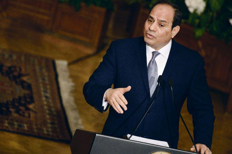 Egiptuse president Abdel Fattah  al-Sisi.