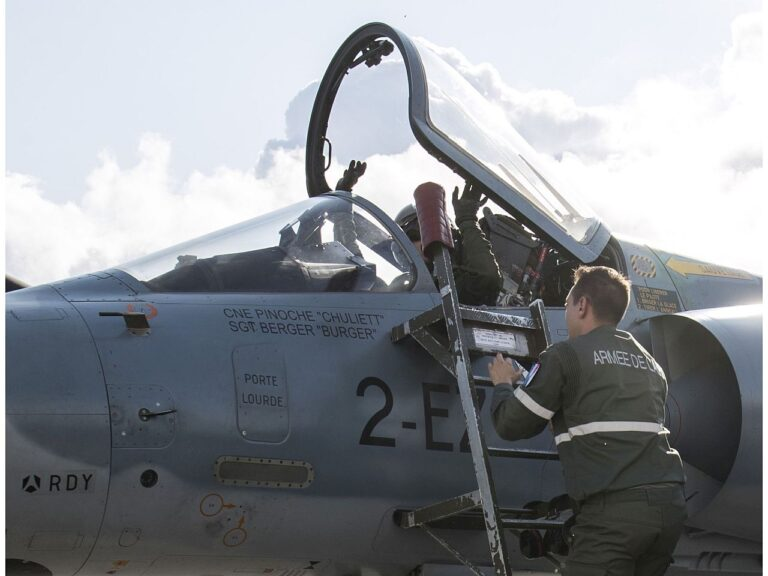 Eesti NATO liikmesuse tugevaks väljenduseks on saanud alliansi õhuturbemissiooni olemasolu Ämari baasis.