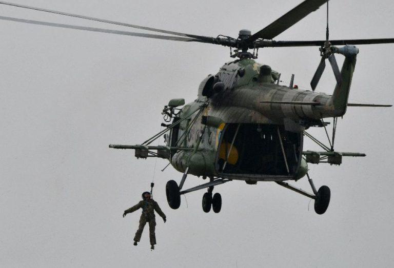 Ukraina MI-8 helikopter harjutamas inimeste evakueerimist eelmisel aastal ühisõppustel NATO riikidega. Ukraina teeb koostööd NATOga mitmel alal, ent NATO liikmesus ei pruugi tulla nii pea.