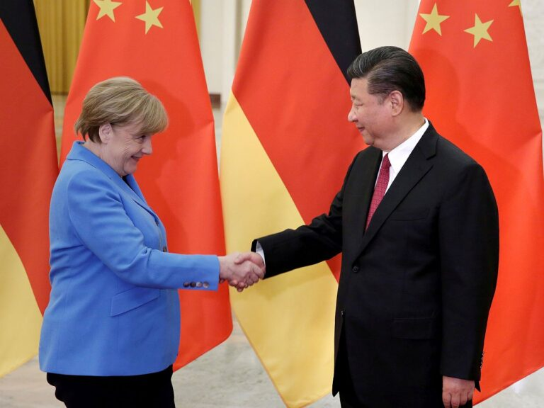Saksamaa liidukantsler Angela Merkel ja Hiina president Xi Jinping. Euroopa Liit pole siiani suutnud Hiina suunal ühtset hoiakut luua.