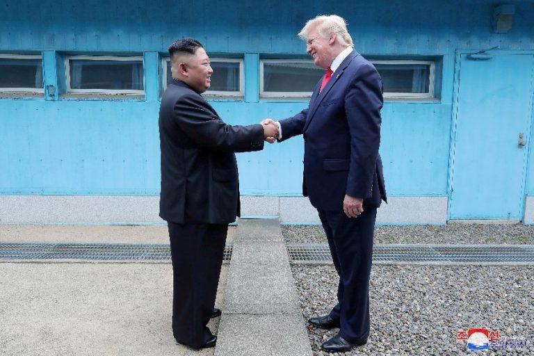 Donald Trump ja Kim Jong Un kohtumas kahe Korea piiril sel aastal.