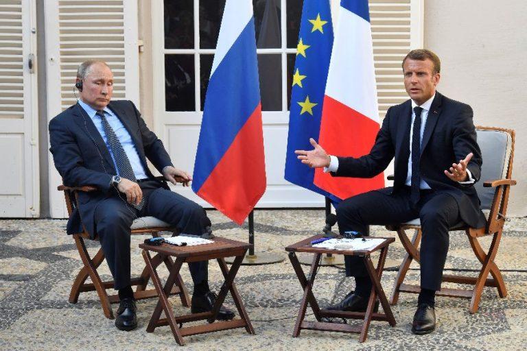 Prantsusmaa president Emmanuel Macron kohtumas oma Vene kolleegi Vladimir Putiniga 19. augustil Prantsusmaal. Macron paistab olevat ainus Euroopa Liidu liider, kellega Venemaa tahab läbi rääkida.