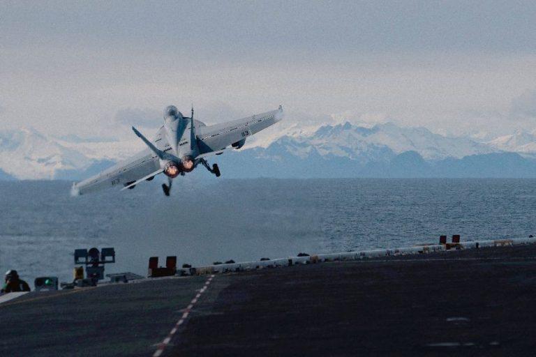 USA sõjaväeõppused Alaskal selle aasta mais. USA on hakanud Arktikale senisest rohkem tähelepanu pöörama.