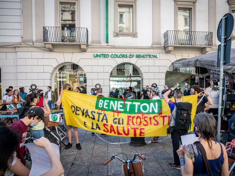 Üks kliimaaktivistide liikumisi on Tuleviku Reede, mis korraldas juuni algul Milanos Benettoni juures meeleavalduse.