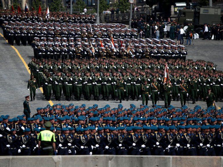 Võiduparaad Moskvas Punasel väljakul 24. juunil 2020.