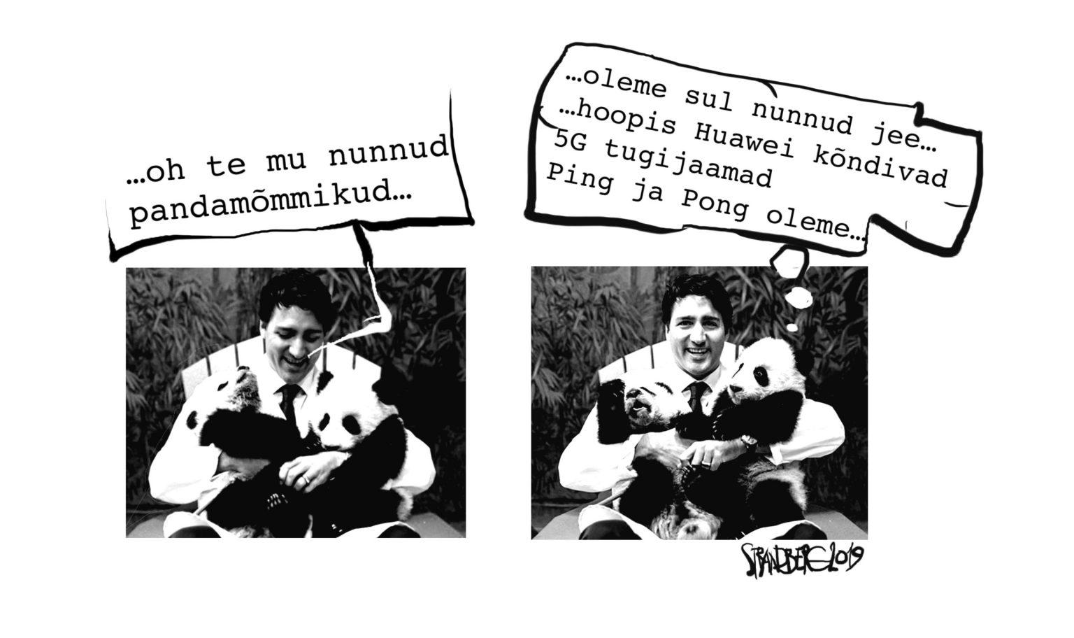 Karikatuur: Trudoo ja tugijaam