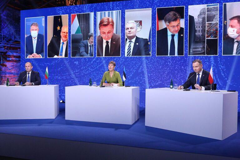 Kolme mere virtuaalne tippkohtumine Tallinnas 19. oktoobril 2020.