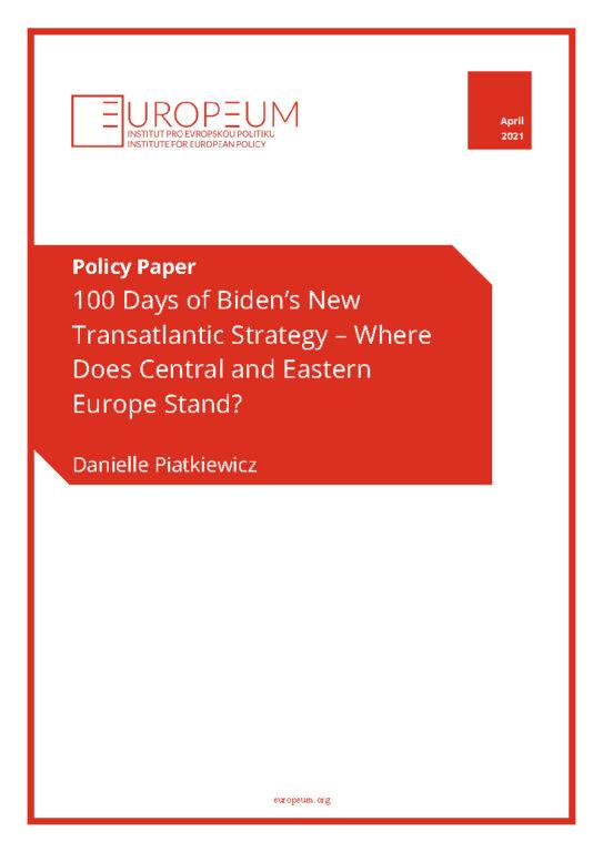 Bideni uue transatlantilise strateegia 100 päeva tähendus Kesk- ja Ida-Euroopale