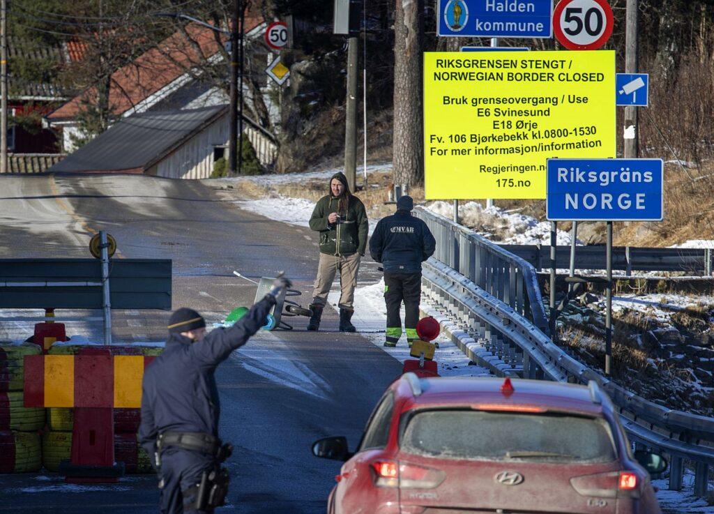 Covid-19 pandeemia tõttu suletud Rootsi ja Norra piir. Covid-19 kriisi ajal on enamik Põhjamaade sisepiire täiesti kinni olnud. See on tõsine tagasilöök senisele piiritõkete eemaldamisele ja piirideta Põhjamaa ambitsioonile.