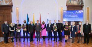 Balti Assamblee kirjandus-, kunsti- ja teadusauhinna, Balti Assamblee medalite ja Balti innovatsiooniauhinna üleandmise tseremoonia 2020.